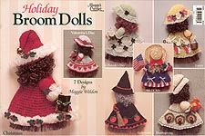 Maggie Weldon Holiday Broom Dolls