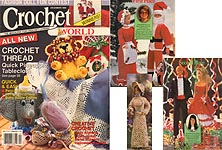 Crochet World December 1990.