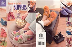 Annie's Attic Hooked on Crochet! Slippers