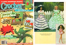 Crochet World August 1995.