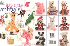 Annie's Attic Itty Bitty Animals