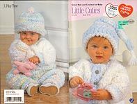 Red Heart Book No. 0143: Little Cuties - Quick Knit and Crochet for Baby