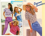 Annie's Attic Summer Sweaters