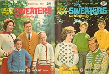 Coats & Clarks Book No. 139: Style- Right Sweaters for the Family