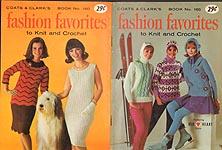 Coats & Clarks Book No. 160: Fashion Favorites to Knit and Crochet