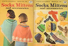 Coats & Clarks Book No. 163: Socks, Mittens, and Accessories