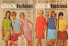 Coats & Clarks Book No. 185: Quick Fashions
