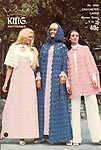 King Patterns No. 2058: Crocheted Capes