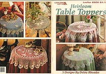 LA Heirloom Table Toppers