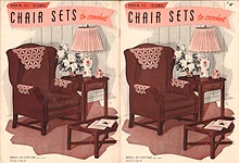 Book No. 143: Chair Sets to Crochet