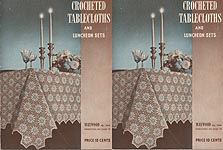 Book No. 179: Crocheted Tablecloths and Luncheon Sets