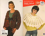 Red Heart Book 0723: Bright Outlook Knit and Crochet Fashions
