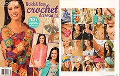 Crochet World Presents Quick & Easy Crochet Accessories