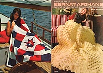 A Bouquet of Bernat Afghans to Knit and Crochet