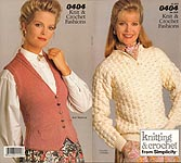 Knitting & Crochet from Simplicity #0404: Knit & Crochet Fashions