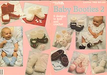 Leisure Arts Baby Booties 2
