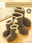 Annie's Crochet Mommy & Me Slipper Boots