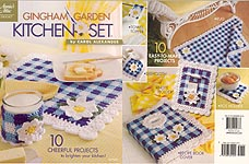 Annies Attic Gingham Garden Kitchen Set