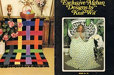 Heir Loom Pub. Exclusive Afghan Designs by Knit- Wit (Book No. 70)