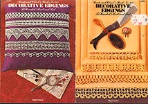 Coats & Clark's Book No. 231: Decorative Edgings to Crochet, Knit, and Tat