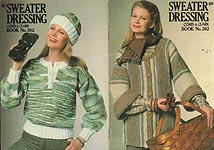 Coats & Clarks Book No. 282: Sweater Dressing