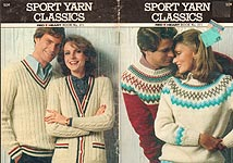 Red Heart Book No. 271: Sport Yarn Classics
