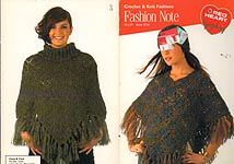 Red Heart Book 0724: Fashion Note Crochet & Knit Fashions