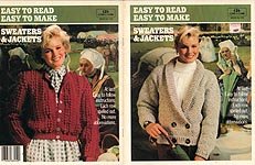 Coats & Clark Book No. 100: Easy To Read Easy To Make Sweaters & Jackets