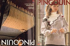 Pingouin A Portfolio of Afghans/Sweater Designs for Men & Women