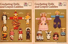 Mangelsens Crocheting Dolls and Crayon Caddies