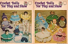 Mangelsens Crochet Dolls for Play and Show