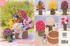 Annie's Attic Flower Bouquet Pot Holders