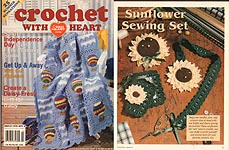 Crochet With Heart, August 1998