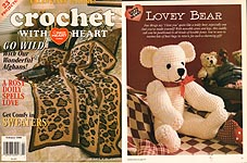 Crochet With Heart, February 1999