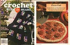 Crochet With Heart, April 1999