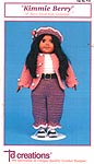 Td creations 18 inch Berry Sweet Kids Collection: Kimmie Berry