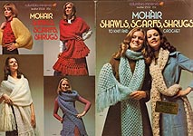 Columbia - Minerva Mohair Shawls, Scarfs, Shrugs to Knit and Crochet