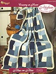 The Needlecraft Shop Afghan Collector Series: Blue On Blue