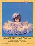 Shannon, 13 inch Crochet Bed Doll, Td creations