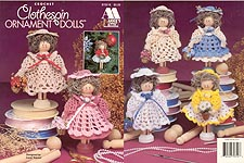 Annie's Attic Crochet Clothespin Ornament Dolls