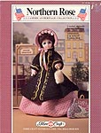Northern Rose Civil War era costume for 15 inch doll.