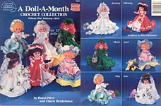 A Doll A Month Crochet Collection, Volume One, January - June