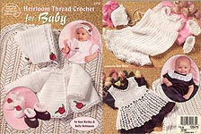 American School of Needlework Heirloom Thread Crochet for Baby