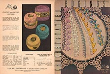 Lily Book No. 700E: Crochet & Tatted Edgings
