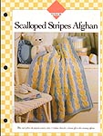 Vanna's Scalloped Stripes Afghan