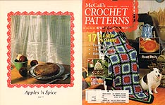 McCall's Crochet Patterns, Oct. 1992