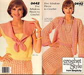 Crochet With Style from Simplicity #0442: Five Fabulous Pieces to Crochet
