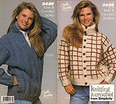 Crochet With Style from Simplicity #0496: Knit & Crochet Jackets