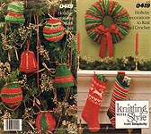 Knitting With Style from Simplicity 0419: Holiday Decorations to Knit and Crochet