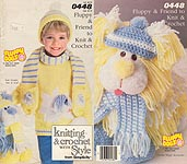 Simplicity Fluppy & Friend to Knit & Crochet
